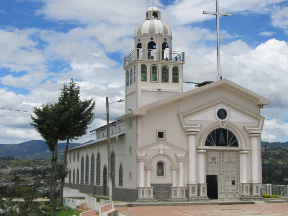 One of many Churchs in Loja