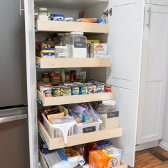 Kitchen Pantry Organizers Spring Faucet Hacks To Organize And Make Your Flow Better Roll Out Shelves For Extra Deep