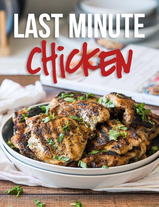 Last Minute Chicken Recipe | I Wash You Dry