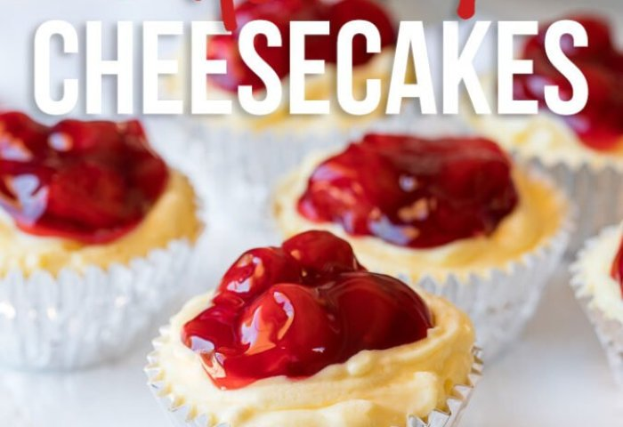 Quick Cherry No Bake Cheesecakes I Wash You Dry