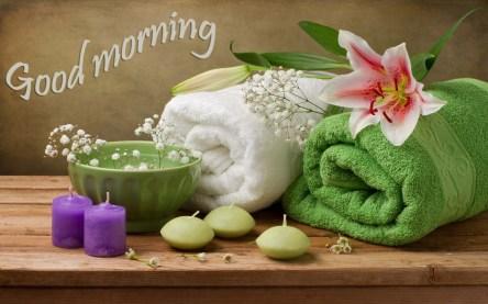 Good-morning-wish-candle-light