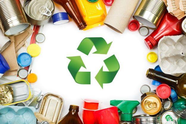 Itens para reciclagem