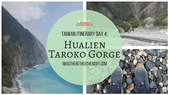 Hualien Taroko Gorge