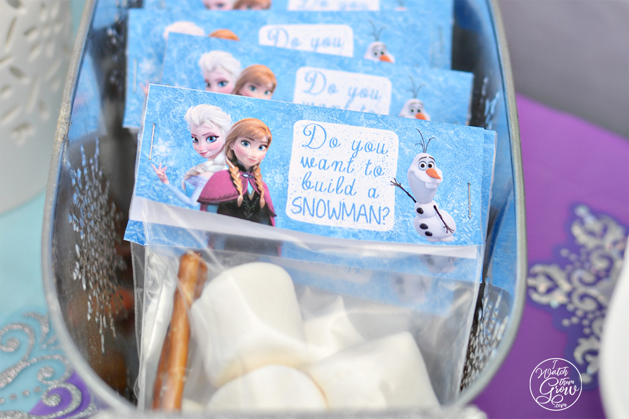 graphic about Frozen Printable Labels named No cost Printable Frozen Acquire-A-Snowman Package Labels - I Keep track of