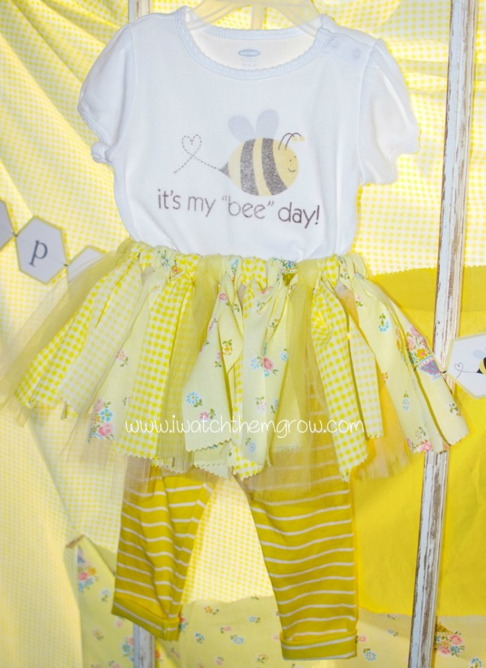 honey bee party outfit