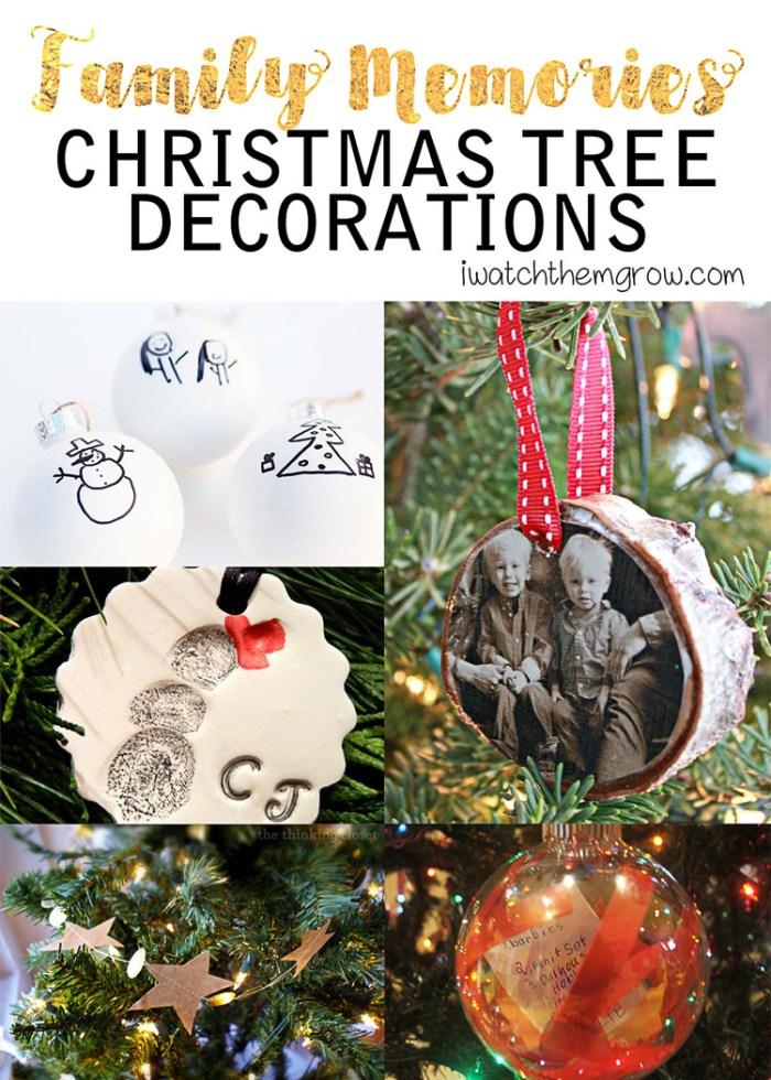 5 handmade Christmas tree decorations that capture family memories