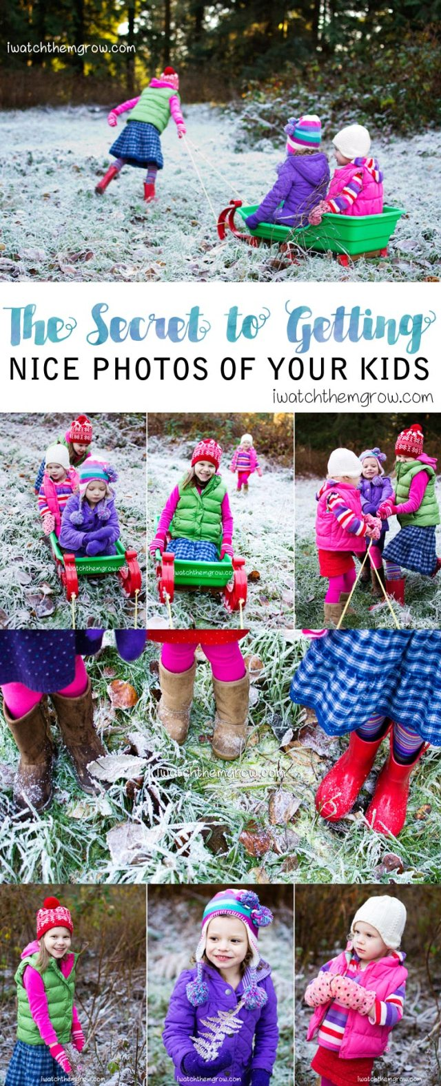 Want nice photos of your kids? Read this mom's secret to success!