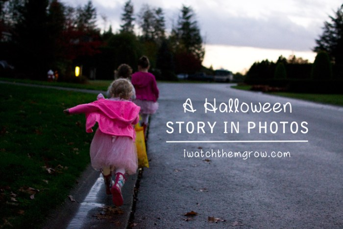 Telling a Halloween story in photos, and how to tell your own story in photos