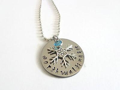 Frozen-quote-snowflake-necklace