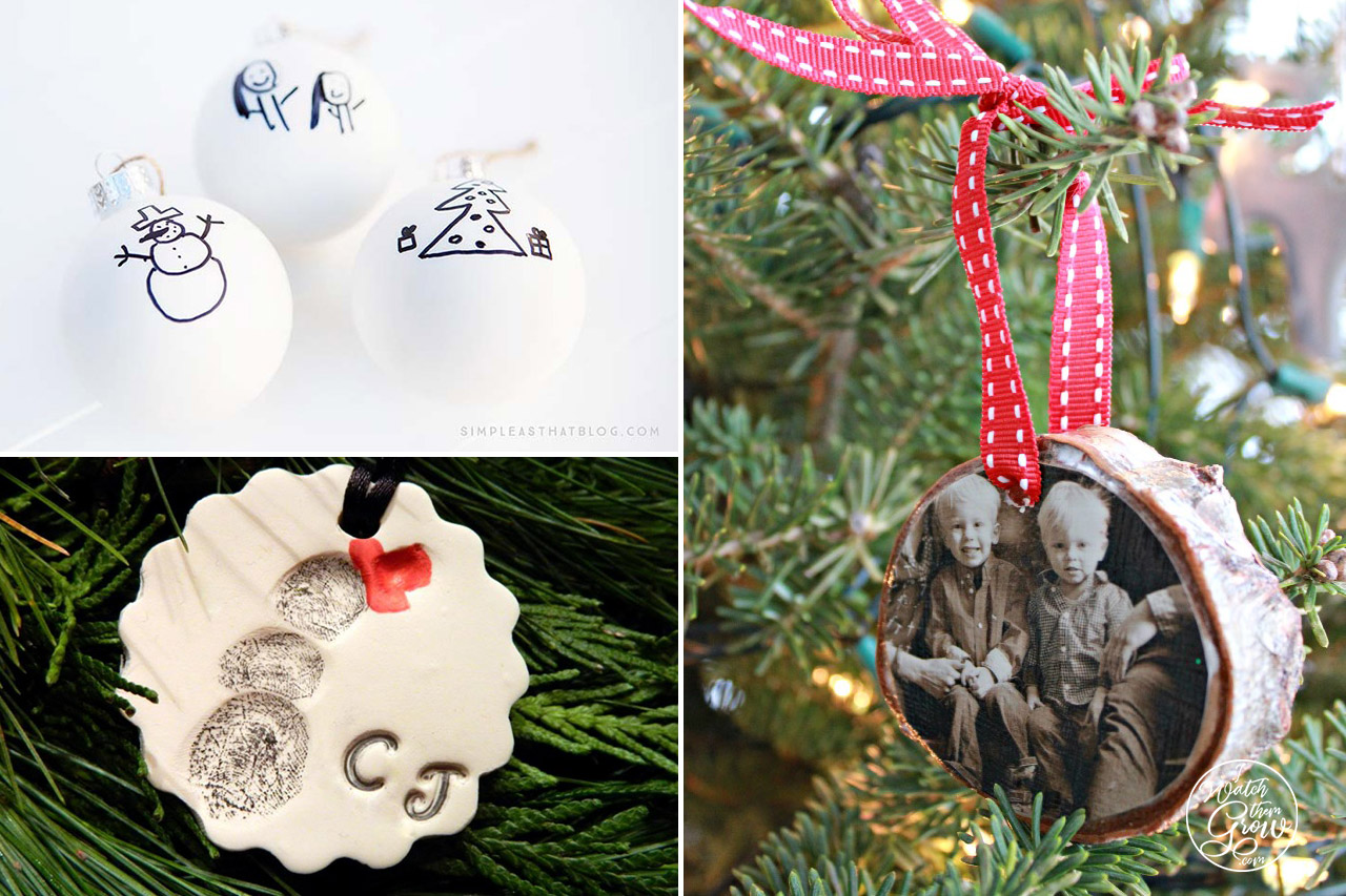 5 handmade Christmas tree decorations that capture family memories