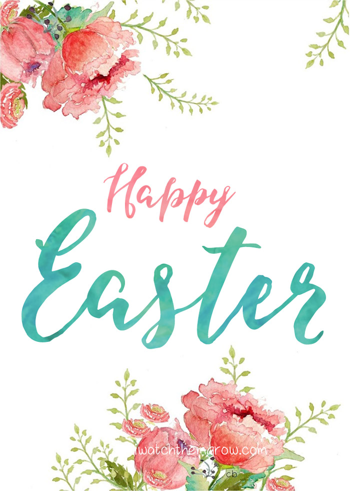 image about Happy Easter Sign Printable referred to as Content Easter and Hello there Spring Printables - I Perspective Them Mature