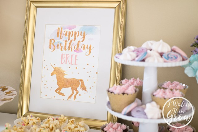 Pretty Unicorn Party