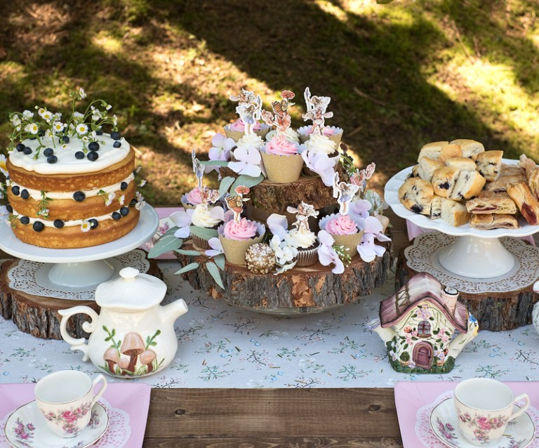 Fairy tea party food ideas!