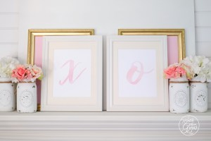 Free printable Valentine art by iwatchthemgrow.com!