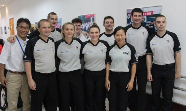 New officials awarded International and Zonal referee licences
