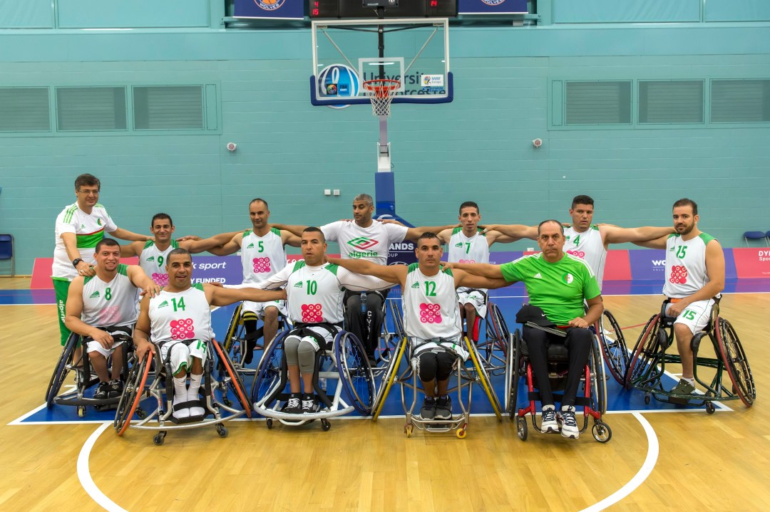 Algeria Men's team for Rio 2016