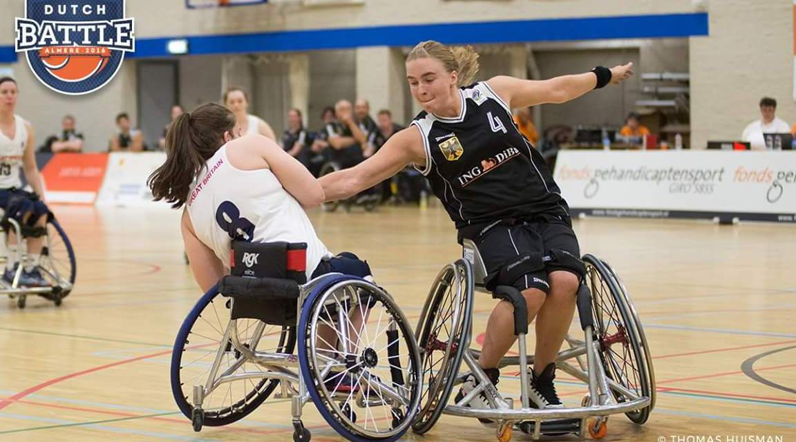 Welcome back Germany's Mareike Miller as an IWBF blogger for Rio 2016