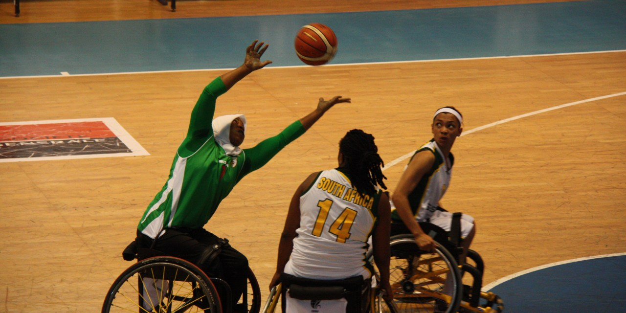 Volunteer at the 2017 IWBF Africa World Championship Qualifiers