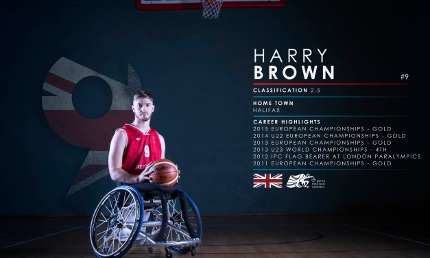 Harry Brown dares to dream big at first Paralympic Games