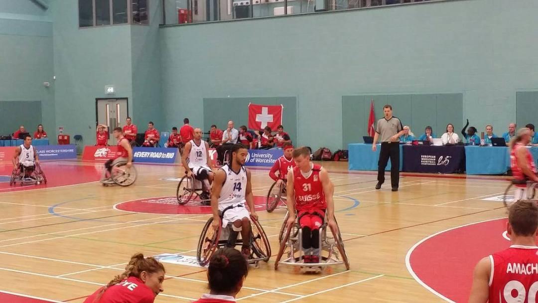 Switzerland in action at Euros 2015