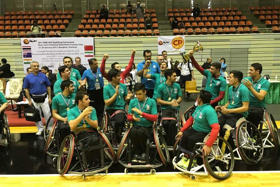 Iran win back to back IWBF AOZ U23 qualifiers