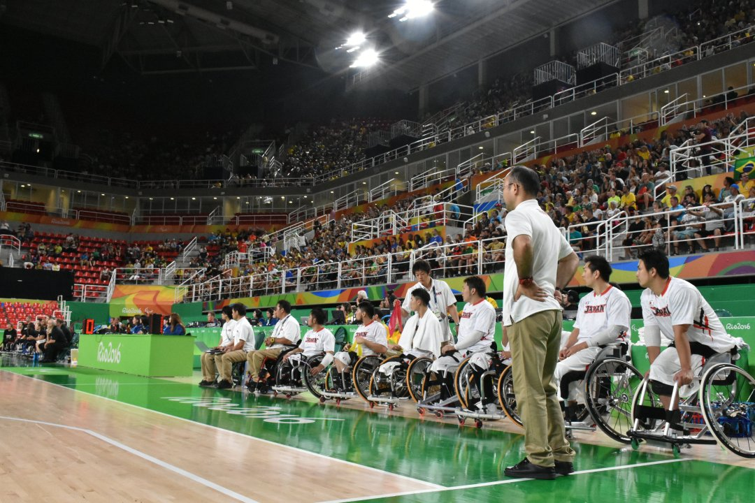 Japan's head coach Shimpei Oikawa at Rio 2016