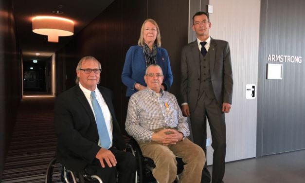 Ron Coppenrath appointed Knight in the Order of Orange-Nassau