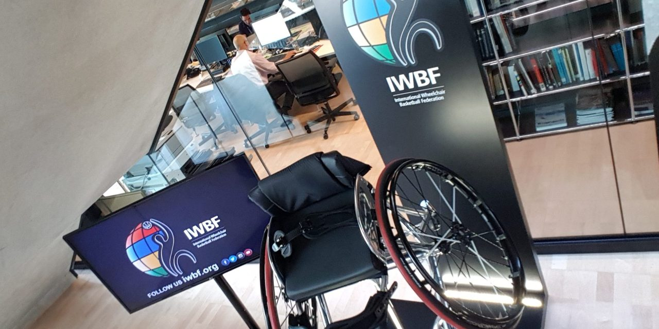 Wheelchair Basketball lands in the House of Basketball