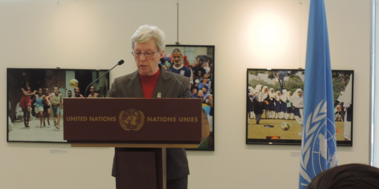 IWBF Secretary General speaks at inauguration of UNOSDP photo exhibition