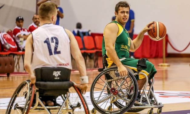 South Africa's U23 Steven Walgenbach is excited to compete against the best of the best