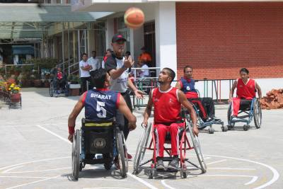 Engage Empowering Wheelchair Basketball League in Nepal