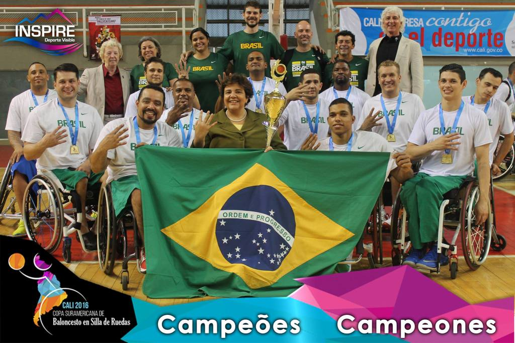 Brazil crowned South America Champions in 2016