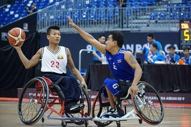 Myanmar get first win at Kuala Lumpur 2017 9th ASEAN Para Games