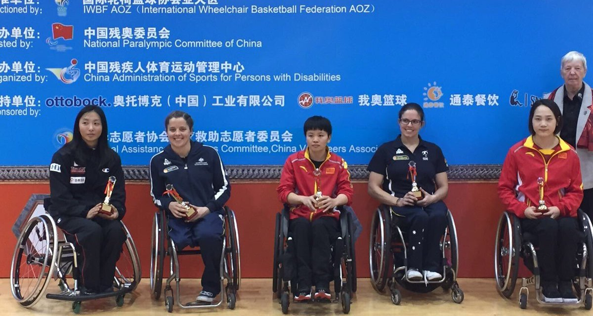 MVP's and All Star Five named at 2017 IWBF Asia Oceania Championships