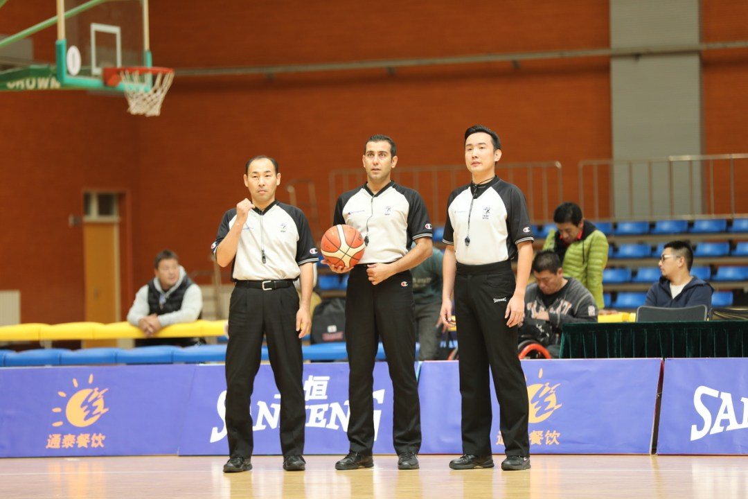 Referees at the 2017 IWBF Asia Oceania Championships