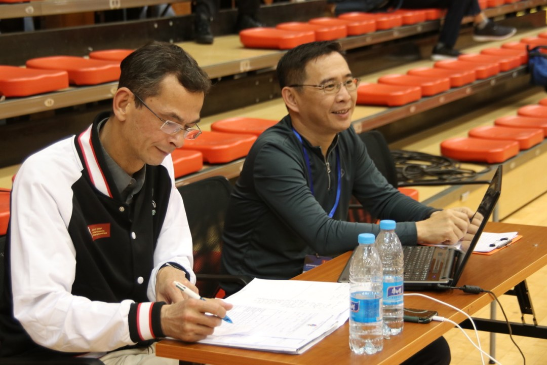 A referee clinic took place in the Asia Oceania Zone