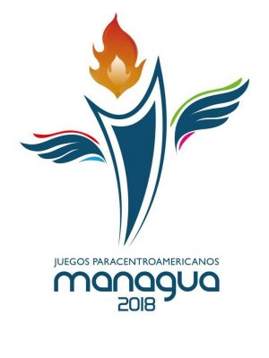 Para Central America Games 2018 Logo