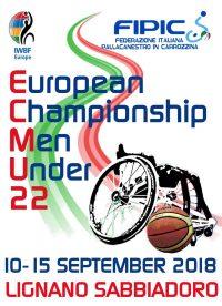 U22 Men's European Championships 2018 Logo