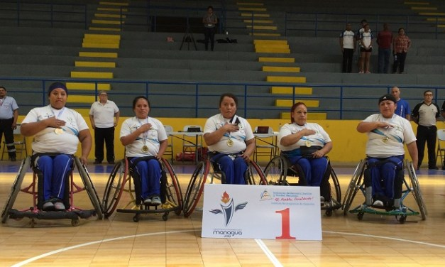 Guatemala Women take home Gold at Para Central American Games