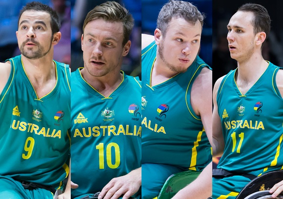 Australian Rollers select team for 2018 IWBF World Championships
