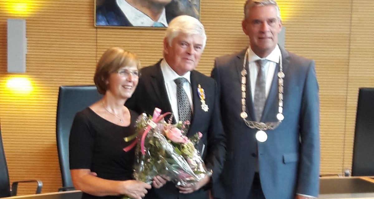 Former IWBF Europe President Hans Tukker receives major Dutch award
