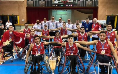 Turkey crowned champions of U22 Men's European Championships