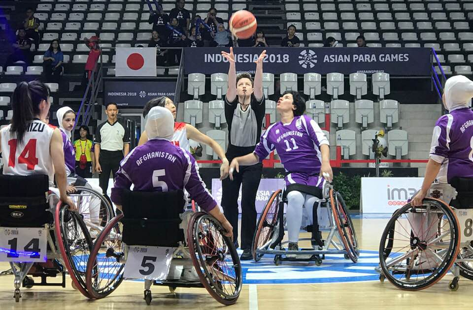 China and Japan top women's pools at 2018 Asian Para Games