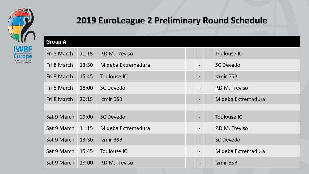 2019 EuroLeague 2 Schedule-2