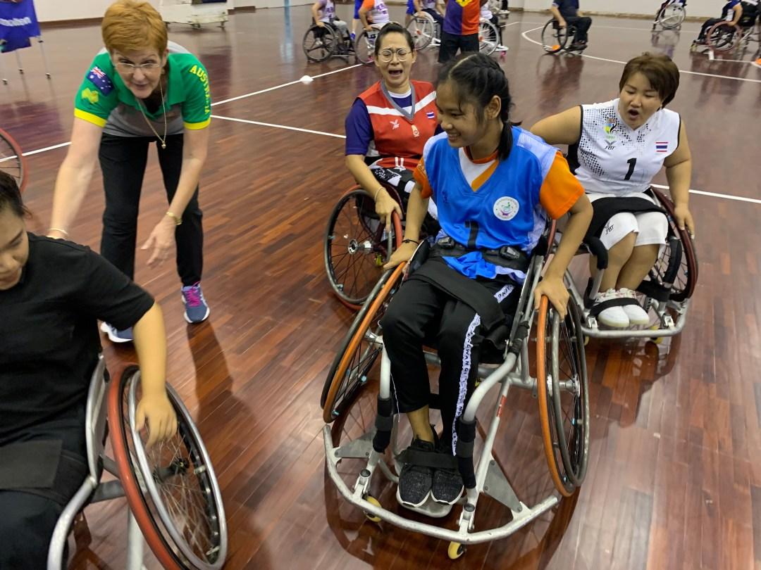 IWBF Asia Oceania Zone's Second Women's Development Camp 4