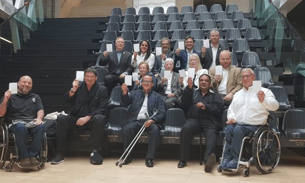 IWBF raises the White Card for International Day of Sport for Development and Peace