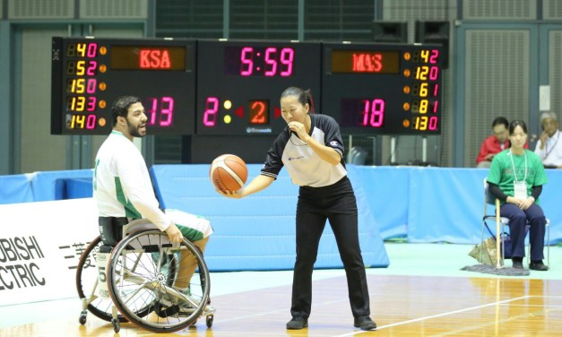 2018 Official Wheelchair Basketball Rules – Chinese version now available