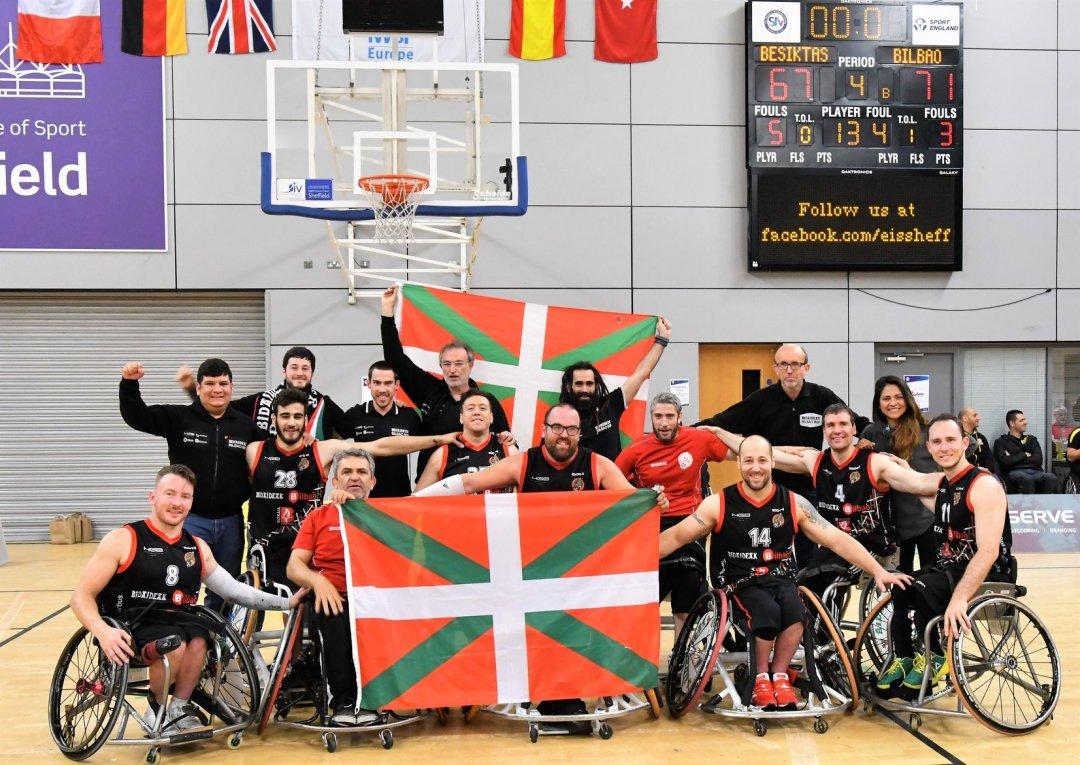 Bidaideak Bilbao BSR winners of the 2019 EuroLeague 1 Finals