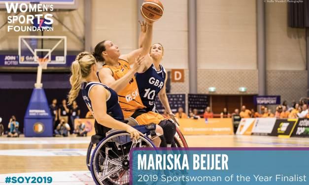 Netherlands Beijer shortlisted for Sportswomen of the Year 2019