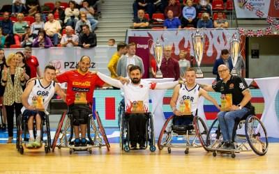 2019 Men's European Championship All-Star Five named